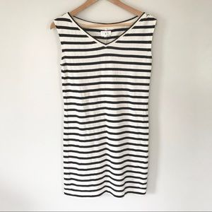 Lou & Grey Striped Sleeveless Shift Dress